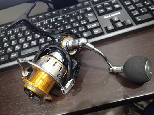 堤防ライトショアジギ用にリニューアルされたブラスト3500Hを買ってみた