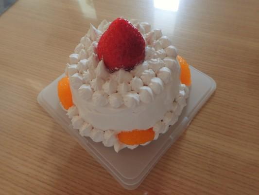 【happybirthday】肉団子姫のお誕生日でした【手作りケーキ】