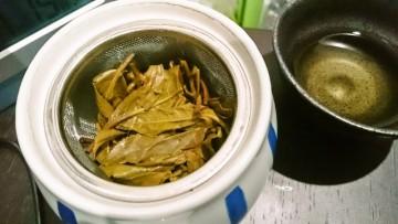 生プーアル茶